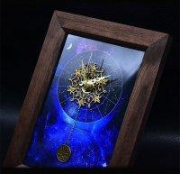 12星座の置時計(ジュエリークロック)
